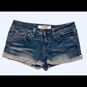 Charlotte Russe Jean Shorts Size 6